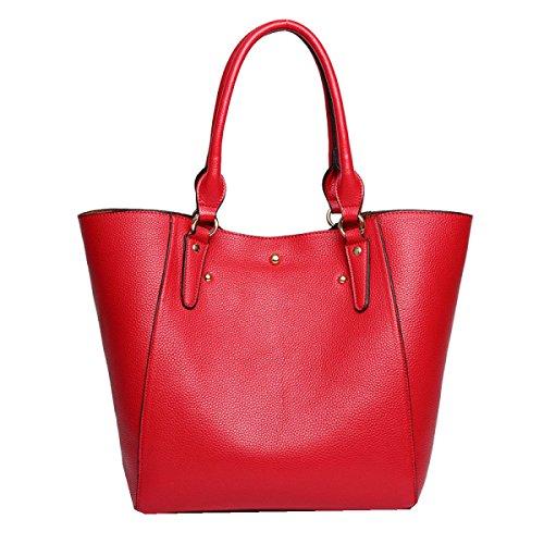 Borse Moda Yy.f Retro Borsa A Tracolla Minimalista Borsa Estrinseca La Moda Intrinseca E Pratico Multicolore Red