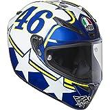 AGV Motorradhelm Veloce S E2205 Top PLK, Ranch Blau, Größe XXL