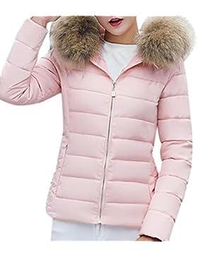 Odejoy Adatti le donne solide casuali dimagriscono in inverno sottile giù il cappotto del cappotto del cappotto...