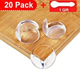 20 Pièces Coin de Table Protection Bebe Transparent, Niviy Coin Protecteur Table...