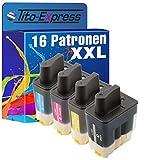 PlatinumSerie® 16x Druckerpatrone XXL kompatibel für Brother LC900 DCP-120C MFC-820CW MFC-830 MFC-210 MFC-215 MFC-422