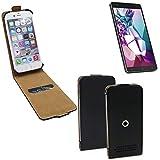 Schutz-Hülle für Medion Life X6001, schwarz 360° Handy