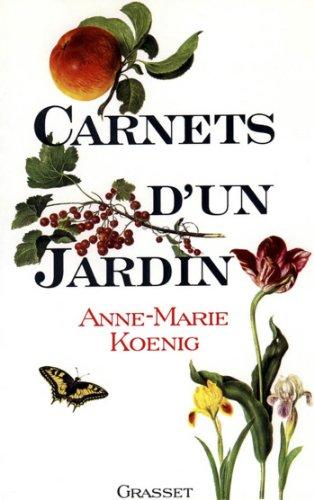 Téléchargement Carnets d'un jardin (Littérature) pdf, epub
