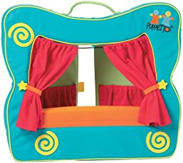 Puppettos Theatre Stage, Multi Color