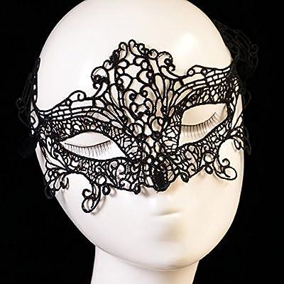 Sexy Spitzen-Maske Maskerade Spaß Mode-Club , black