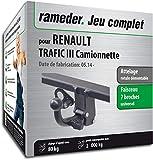 Rameder Attelage rotule démontable pour Renault TRAFIC III Camionnette + Faisceau 7...