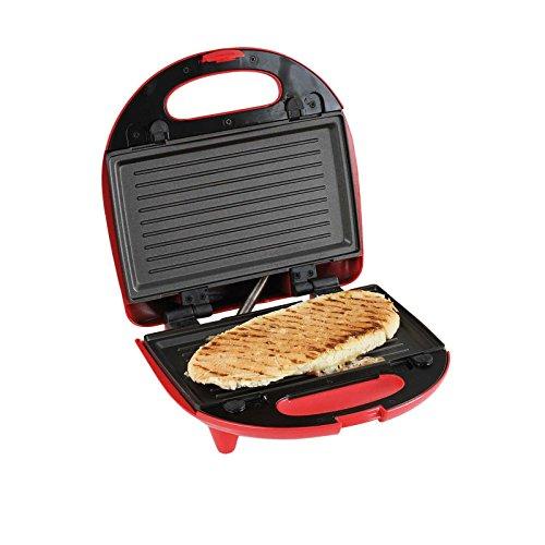 Double gaufrier 3 en 1, appareil à croque-monsieur, surface de cuisson interchangeable (gril de table, appareil à croque-monsieur, 2 gaufres belges, appareil à panini, revêtement anti-adhésif)