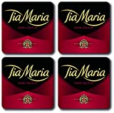 Best Tia Gifts - Tia Maria Square Coasters 4 Piece Set Review