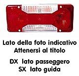 502800 LENTE FARO FANALE POSTERIORE DX Iveco DAILY 2006/01-2011/07