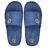 #7: Emosis Modern Stylish Blue Black Tan Brown in Color Corporate Office Casual Slippers Sandals for Men