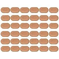 Welnove-Parches Callos Almohadillas para Ampollas-Alivio del Pies Dolor- Callos y Juanetes-35 uds Ovalados Parches hipoalergénicos protección