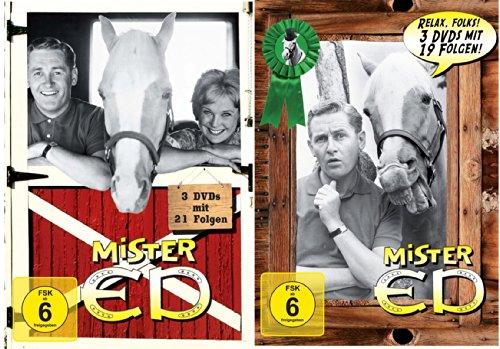 Preisvergleich Produktbild Mr. ED Collection 1&2: Das sprechende Pferd [6 DVDs]