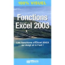 Fonctions Excel 2003