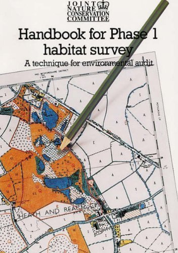 Handbook for Phase 1 Habitat Survey: Technique for Environmental Audit v. 1 by Helen Parkins (1990) Paperback