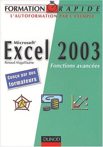 Microsoft Excel 2003 : Fonctions avancées
