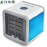 Climatiseur Mobile Ventilateur USB Portable Refroidisseur D'air Personnel Puissant pour Bureau Voiture Chambre Couche