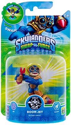 Skylanders Swap Force - Swappable Character Pack - Boom Jet (Xbox 360/PS3/Nintendo Wii U/Wii/3DS) from Activision