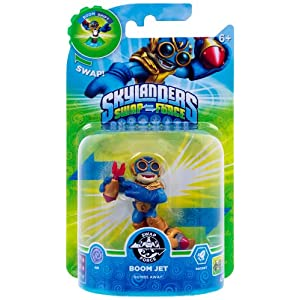 Skylanders Swap Force – Single Character – Swap Force – Boom Jet