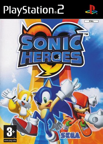 Sonic Heroes (Software Pyramide) (Playstation 2-sonic)