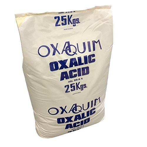25 kg Oxalsäure Ethandisäure Kleesäure Oxalsäure Dihydrat Sackware