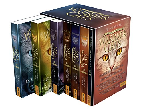 Warrior Cats. Die Macht der drei. Bände 1-6: Warrior Cats, Staffel III, Bände 1-6 -