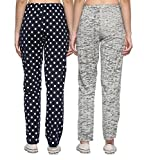 Shaun Women's Cotton Track Pants (Pack of 2)