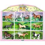 Breyer - 783311 - Figurine Animal - 94/5412 Vitrine Chevaux Collector Breyer - Echelle 1/32 - 6 Pièces