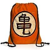 style3 Goku Roshis Turtle School Rucksack Tasche Turnbeutel Sport Jute Beutel, Rucksack Farbe:Motiv 2