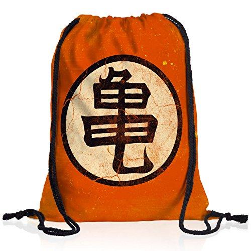 Drache Rucksack (style3 Goku Roshis Turtle School Rucksack Tasche Turnbeutel Sport Jute Beutel, Rucksack FARBE:Motiv 2)