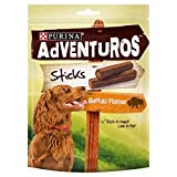 Adventuros Dog Treats Buffalo Flavour Sticks 120g (PACK OF 6)