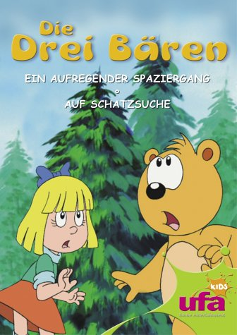 Die drei Bären 1: Ein aufregender Spaziergang/Auf Schatzsuche
