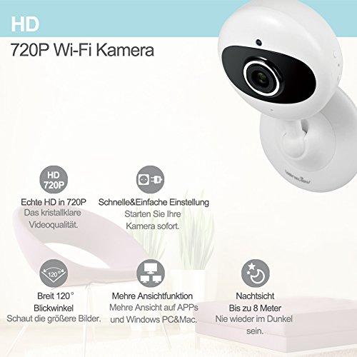 29 99 wansview ip kamera 720p wlan drahtlos sicherheit kamera fr baby alter haustier. Black Bedroom Furniture Sets. Home Design Ideas