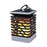 Solarleuchte Außen, Laluztop 75 LED Solarlampe Solarlaterne Wasserdicht IP55 Automatisch Ein- und Ausschalten für Garten, Küche, Terrase, Balkon