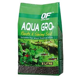 OCEAN AQUA GRO BLACK PLANT & SHRIMP SOIL SAND 8L 6.7KG AQUARIUM FISH TANK COMPLETE SUBSTRATE 7