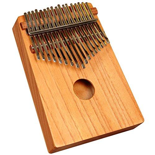 Daumen Klavier, afrikanische Kalimba, Mabira Rote Zeder (Thumb Piano)
