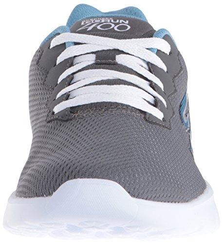 Skechers - Go Run 400, Scarpe sportive Donna Grigio (CCBL)