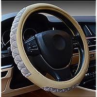 Ruirui Copertura del volante universale 15 pollici accessori interni Automotive – nero, resistente, traspirante, Anti slittamento, inodore , meters