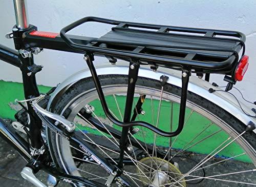 WANDERVOGEL Fahrrad Gepäckträger Mit Schnellspanner Sattelatütze Max. Belastbarkeit 50kg