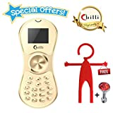 #10: Chilli Spinner Phone World's Slimmest Mobile Phone Cum Spinner Credit Card Sized - Gold