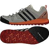 adidas Damen Terrex Solo Traillaufschuhe, Grau (Gridos/Carbon/Cortiz 000), 40 2/3 EU