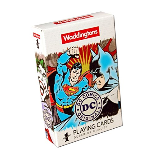 Waddingtons - Juego de Cartas DC Comics (Winning Moves 13780)