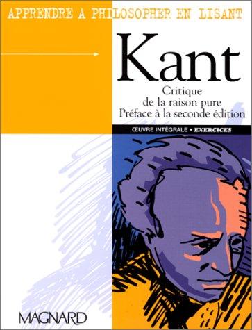 Apprendre à philosopher en lisant Kant
