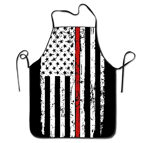 Fashion American Flag Printed Collection Funny Kitchen Apron