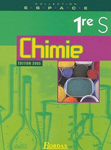 E.S.P.A.C.E. 1re S • Chimie - Manuel de l'élève