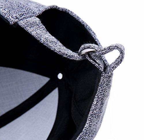 JOOWEN - Casquette de Baseball - Femme Taille Unique noir
