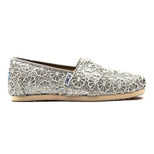 TOMS Crochet Glitter Damen Schuhe Neutral Damen Schuhe Glitter