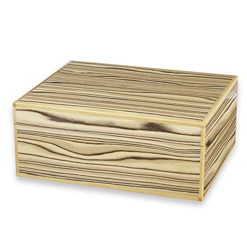 KR Cigar Case Cedar Material Highlights Piano Paint