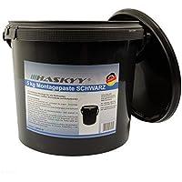 5KG NEGRO Pasta montaje neumático Pasta montaje neumático Pasta de montaje Montagewax Cera de montaje de neumático Neumáticos
