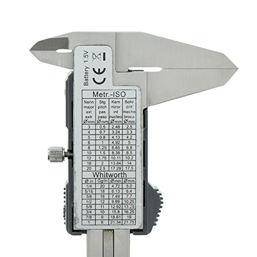 Burg-Wächter – Digitaler Messschieber inkl. Box und Batterien - 2