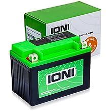 Motocicleta batería 12V 11,3Ah AGM ioni litio (tipo mg14zs/similar YTZ14S)